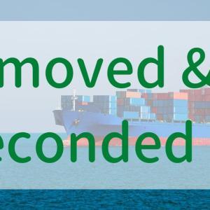 「moved and seconded」って英語、どんな意味なの?|届いた英文レターに書かれていた謎の表現