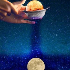 魚座満月サビアン【魚座11度+乙女座11度】光を求め引寄せる影の浄化と手放し