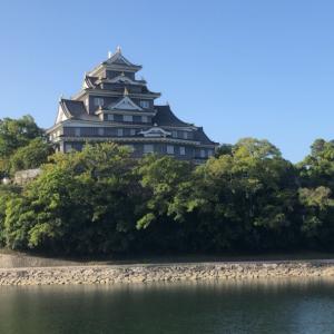 岡山城と後楽園