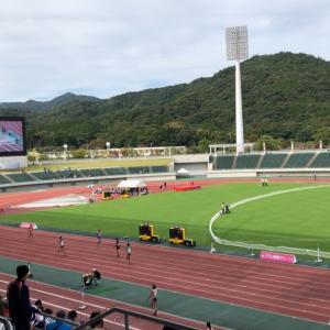 田島直人記念陸上競技大会 観戦
