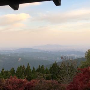 釈迦院御坂遊歩道 日本一の石段 復路