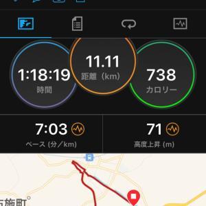 疲労が抜けてないままジョギング