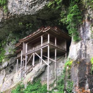 三徳山三仏寺 投入堂登山
