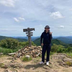 東鳳翩山から萩往還へ…