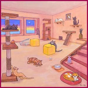 保護猫 チャリティーハンカチ出来ました♪ 東京キャッツアイ