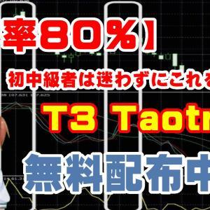 【厳選】バイナリー初心者に使いやすいインジケーター!T3