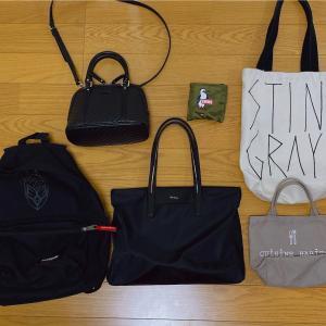ミニマリストのバッグすべて公開。