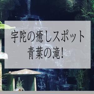 宇陀の癒しスポット青葉の滝!