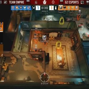 G2 vs Empire - クラブハウス- Six Major Raleigh ファイナル Round3