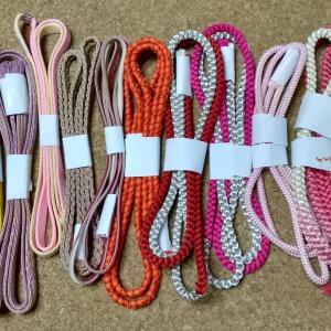 帯締めと羽織紐