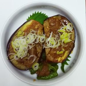 米ナスのステーキ