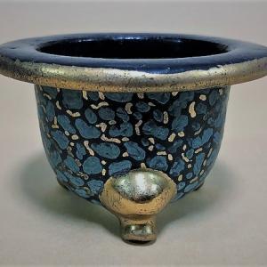 ❣❣鬼才の陶工【東城山一角】❣❣幻の古代堆朱柄の一角鉢❣❣