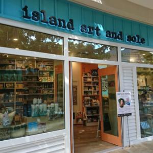 メイドイン・ハワイのおみやげ屋さん「island art and sole」