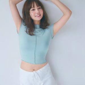 堀北真希さんの妹・NANAMI、本格グラビア初挑戦 へそ出しルックで美ボディ披露