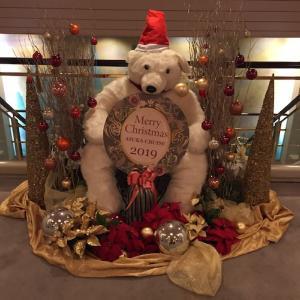 「神戸スペシャルクリスマス ON ASUKA 」初日ディナー。