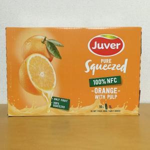 コストコ JUVER フベル100%オレンジジュース(1L×10本入り)