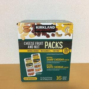 コストコ カークランドシグネチャー チーズフルーツナッツスナックパック(43g×16個入り)