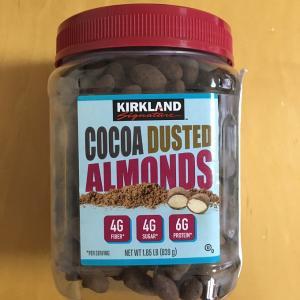 KS COCOA DUSTED ALMONDS カークランドシグネチャー ココアダステッドアーモンド