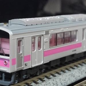 入線日記104 MicroAce(有井) 701系100番台 秋田色