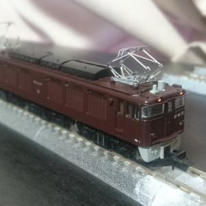 入線日記149 MicroAce EF64-37・茶色