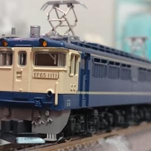 入線日記158 KATO EF65 1000