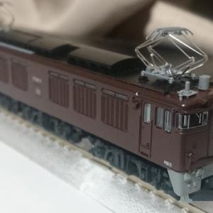入線日記177 KATO EF64 37 茶色