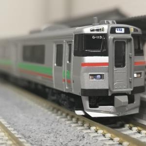入線日記223 KATO 731系 札サウG-113
