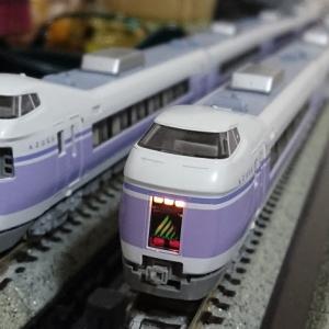 入線日記41 KATO E351系 特急「スーパーあずさ」&「湘南新宿ライナー」