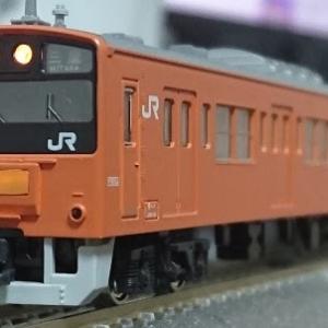 入線日記55 KATO 201系 中央線色 貫通編成