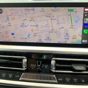 BMW 320d  G21 iphoneのSiriを使う方法2つみつけたが・・