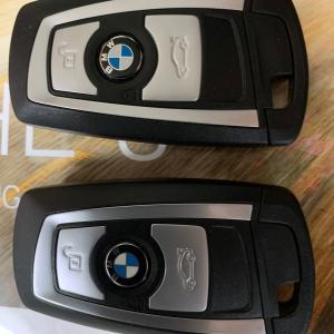BMW G21 鍵が小さくなったのはありがたい、近づくとアンロックも楽ですね