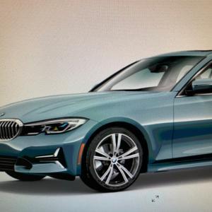 BMW USA 3シリのラグジュアリーラインあり、それとツーリングは設定なし?