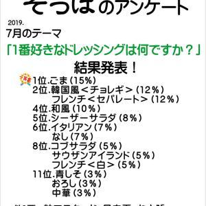 7月のアンケート結果と8月のテーマ発表