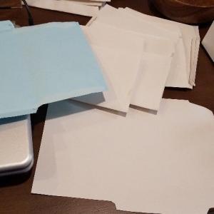 紙の減りが早い。