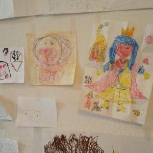 最近の絵など、6歳、4歳、&41歳
