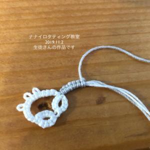 lesson!(1102) 始末糸を結び込む方法