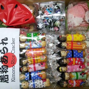 江戸駄菓子「まんねん堂」さんの箱買い