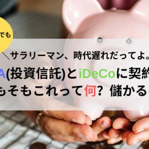 【日本ピンチ!】サラリーマン、時代遅れだってよ。積立NISA(投資信託)とiDeCoに契約殺到中!そもそも投資信託って何?違いとは?