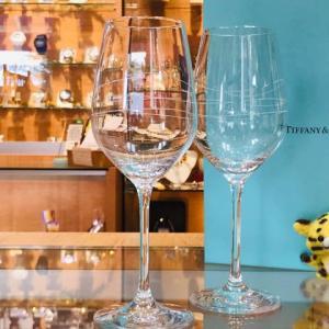本日のお勧めはティファニーのペアグラスです♪福岡の質屋ハルマチ原町質店