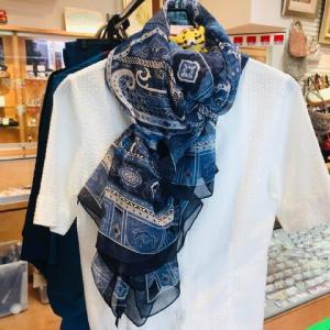 本日のお勧めはエトロのスカーフです♪福岡の質屋ハルマチ原町質店