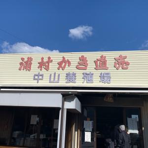牡蠣を食べる為に伊勢志摩へ