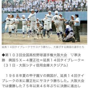 興国高校 高校野球大阪大会決勝へ