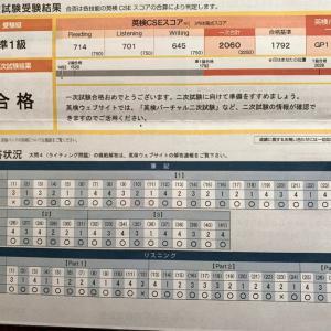 英検一次試験結果