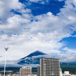 2019年10月22日に富士山の初冠雪を確認!FROM富士宮イオン
