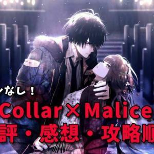 【Collar×Malice(カラーマリス)】キャラ別感想&おすすめ攻略順!ネタバレなし!