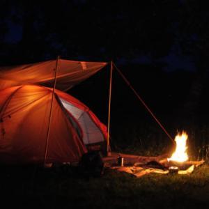 こんなソロキャンプが好き! 三ノ倉で静かな夜