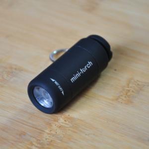 意図せずレギュラーに! USB充電ミニライトが便利