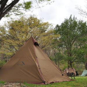 【山都森林スポーツ公園キャンプ場】山間の小さなキャンプ場で春を満喫