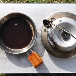 ケトルで煮出して淹れる北欧式 『フィールドコーヒー』の楽しさと趣きが良し!