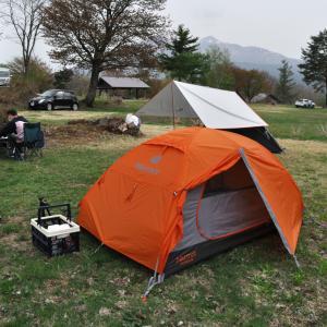 5月の裏磐梯でキャンプ 『独り大好きソロキャンパーが、2人キャンプを楽しんでる模様です』